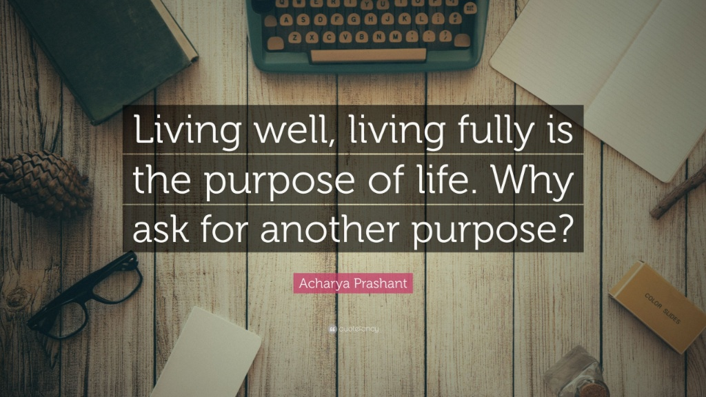 Living, Living Fully , Purpose of Life… —Acharya Prashant [1024×576]