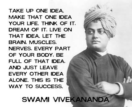 [Image] Take up one idea.