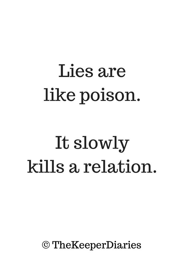 """Lies are like poison. It slowly.."" – The Keeper Diaries [600 x 900]"