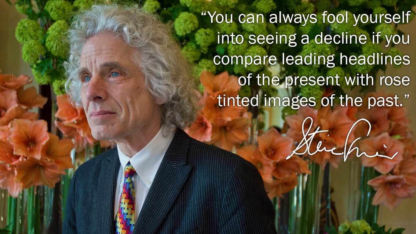 """You can always fool yourself….""- Steven Pinker [1440×810]"