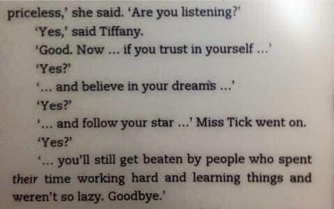 [Image] A bit of motivation from Sir Terry Pratchett