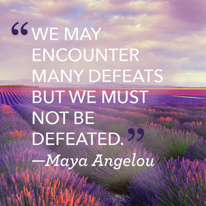 "[Image] ""We may encounter defeat…"""