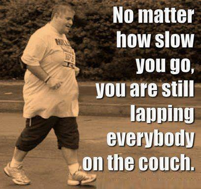 [Image] No matter how slow you go…