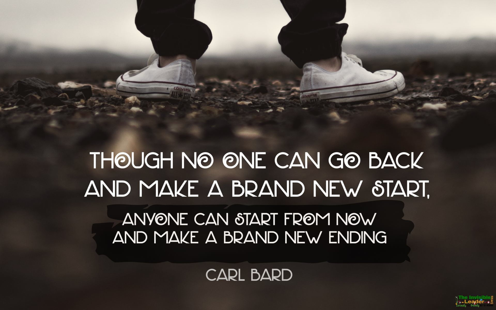 "[Image] DAILY FAMOUS QUOTE: ""Though no one can go back and make a brand new start"" Carl Bard! [1920×1200]"