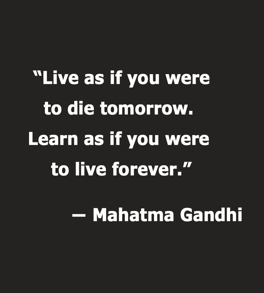 "[IMAGE] ""Live as… Learn as…"" (220)"