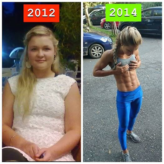 [Image]Back in 2012 she said she wanted to become a bodybuilder… So she did.
