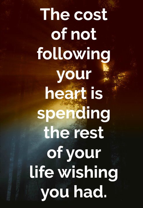 "[IMAGE] ""The Cost of Not Following Your Heart"" (241)"