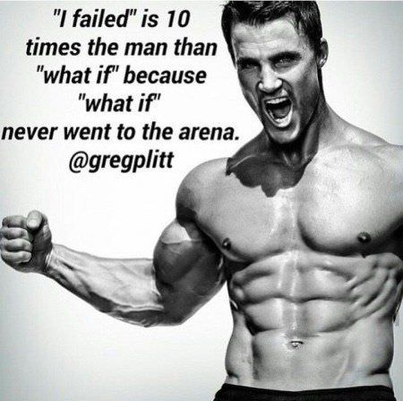 [Image] Don't be scared of failure