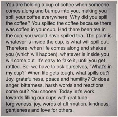 [Image] Filling our cups