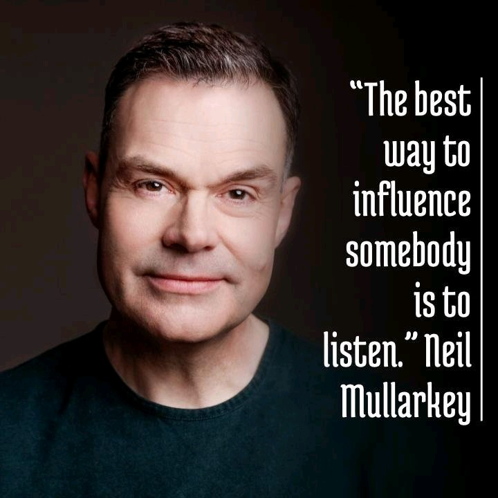 [Image] The best way to influence somebody is to listen. NM