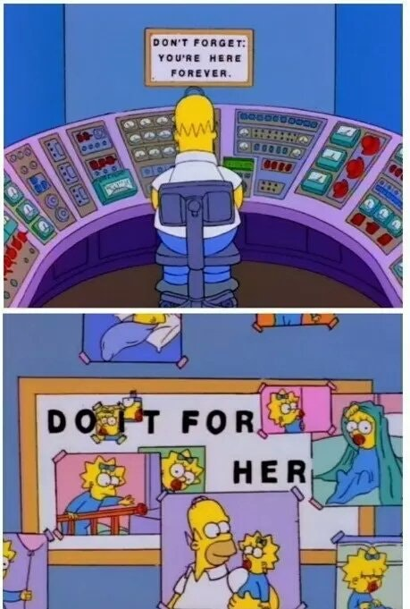 [Image] wow, didn't think The Simpsons could be this motivational