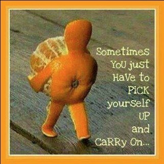 [Image] Sometimes you just have to pick yourself up and carry on
