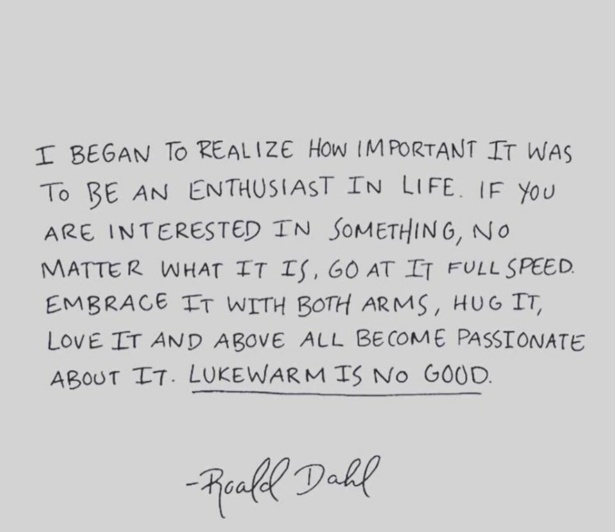 [Image] Enthusiasm