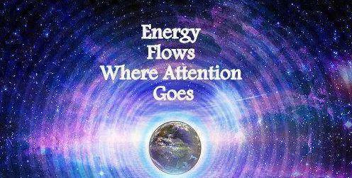 """Energy Flows Where Attention Goes."" – STEVIE P [496 x 251]"
