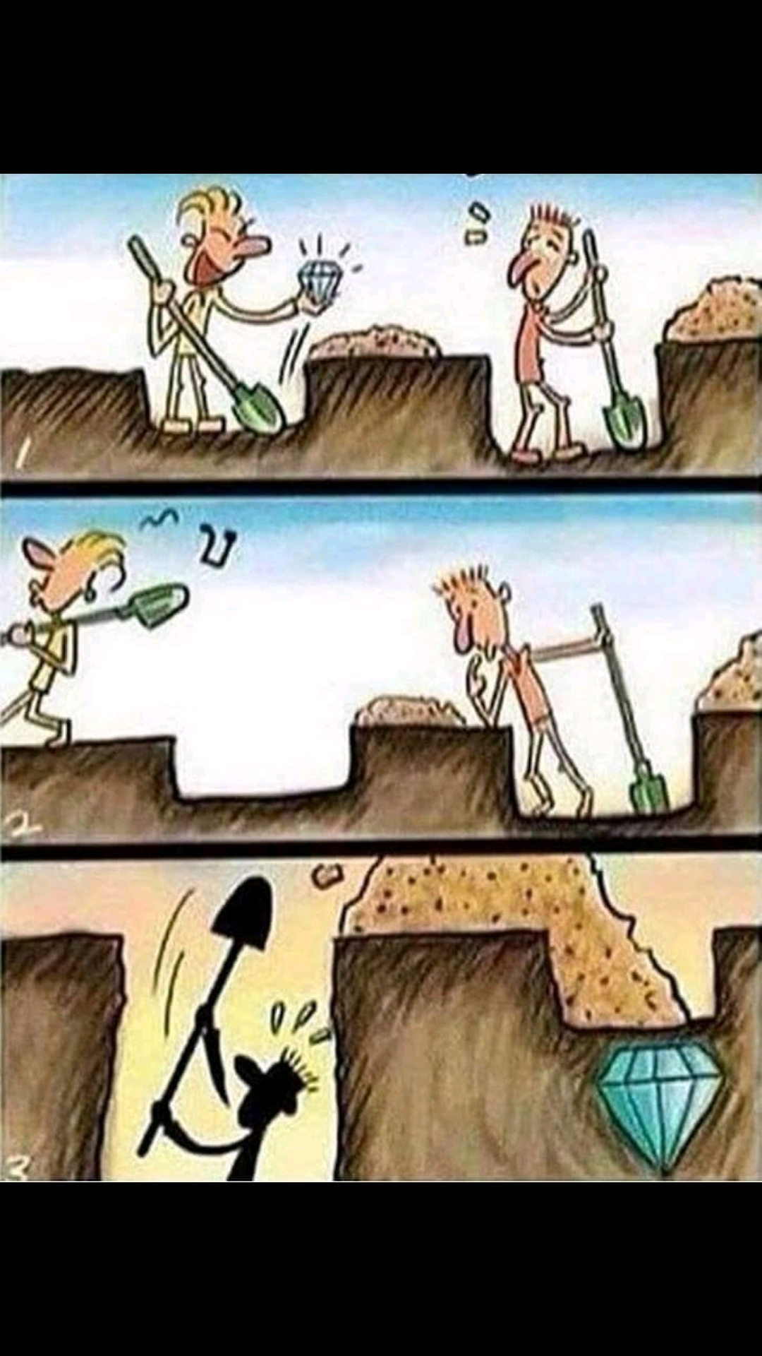 [Image] Focus on your own work.. patience is the key to success
