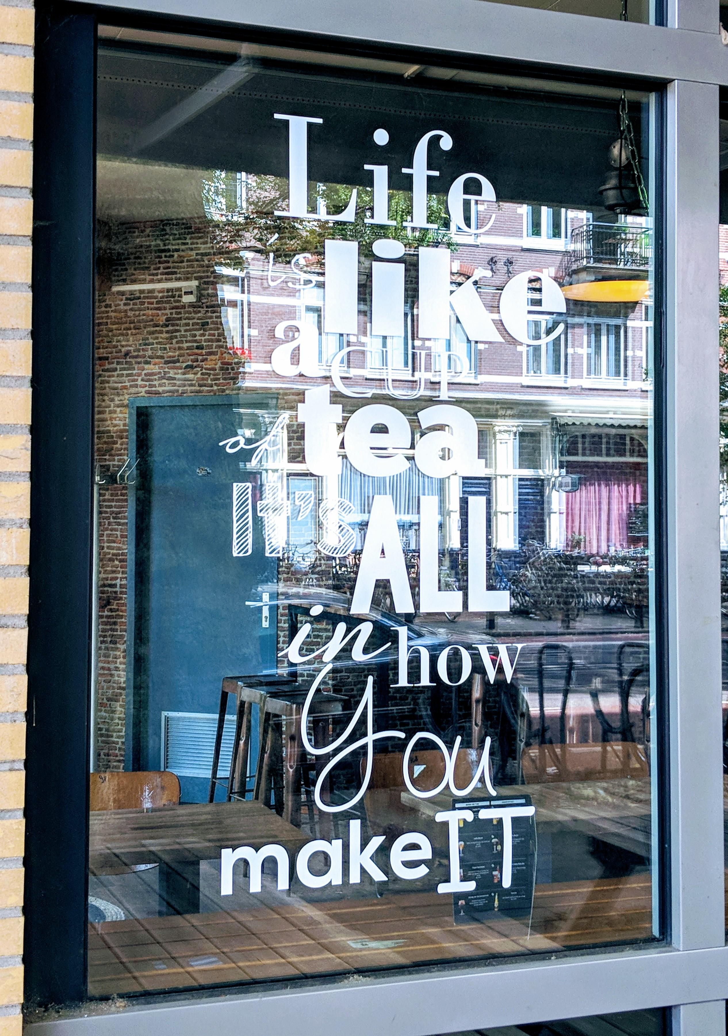 [Image] Life us like a cup of tea…