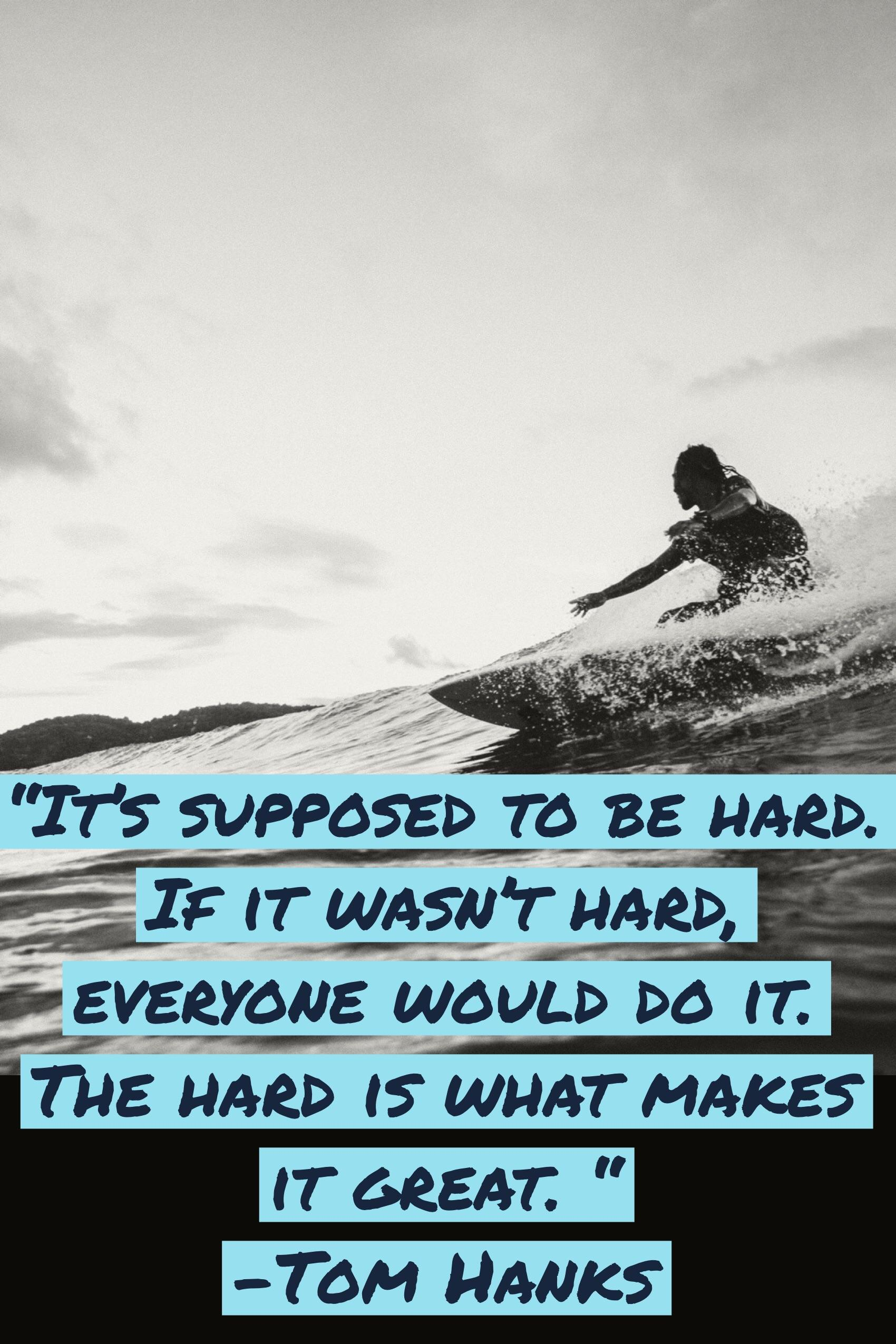 [image] It's supposed to be hard