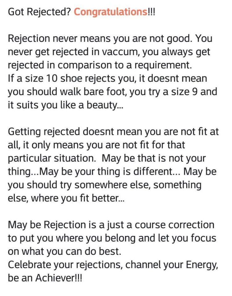 [Image] Rejected