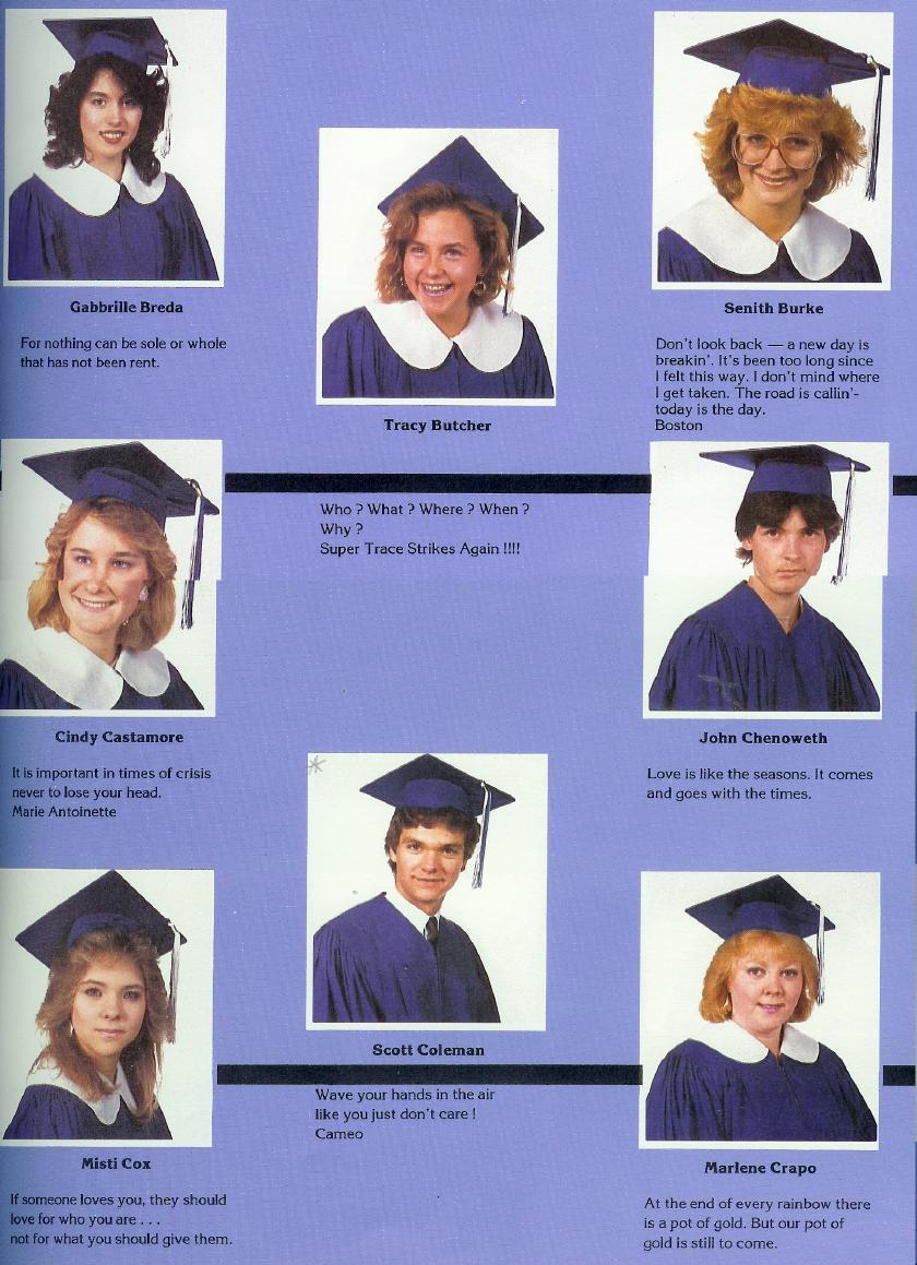 [image] words of wisdom from the class of '87