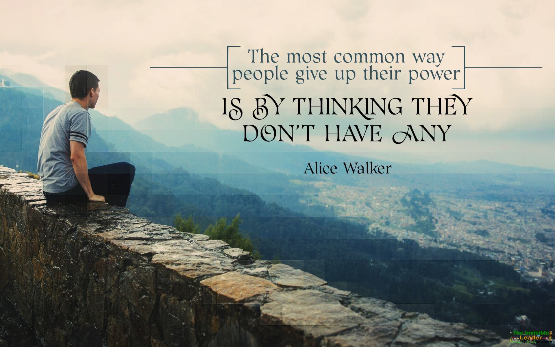 """The most common way people give up their power is by thinking they don't have any"" Alice Walker! [1920×1200]"