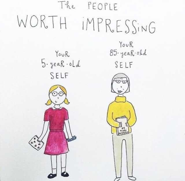 [Image] The people who are worth impressing