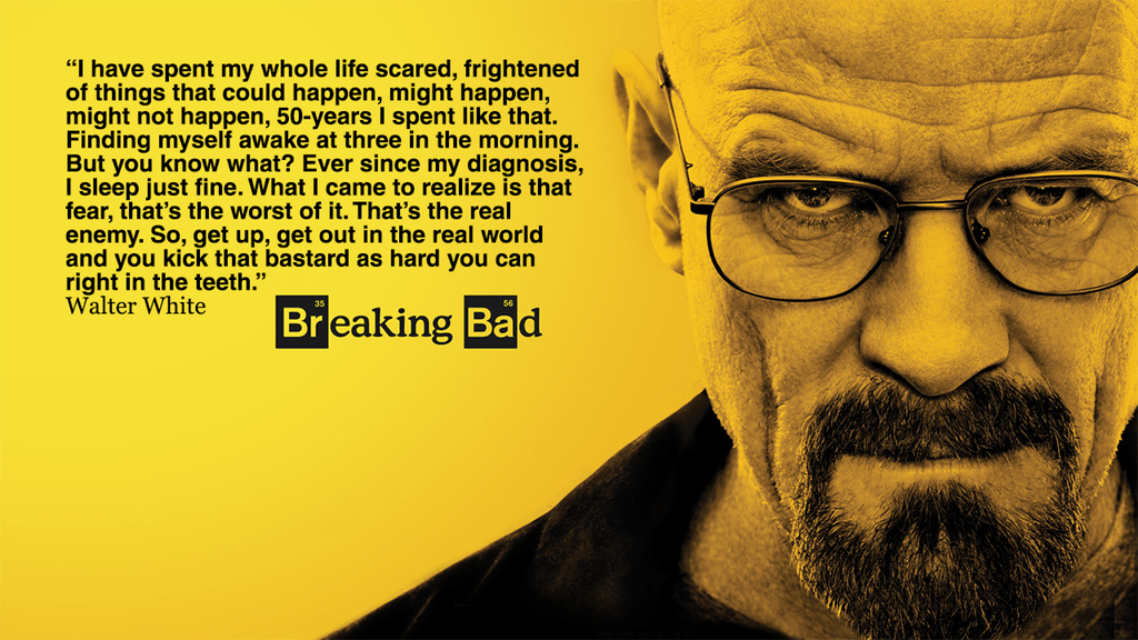 [Image] awesome quote from walter white