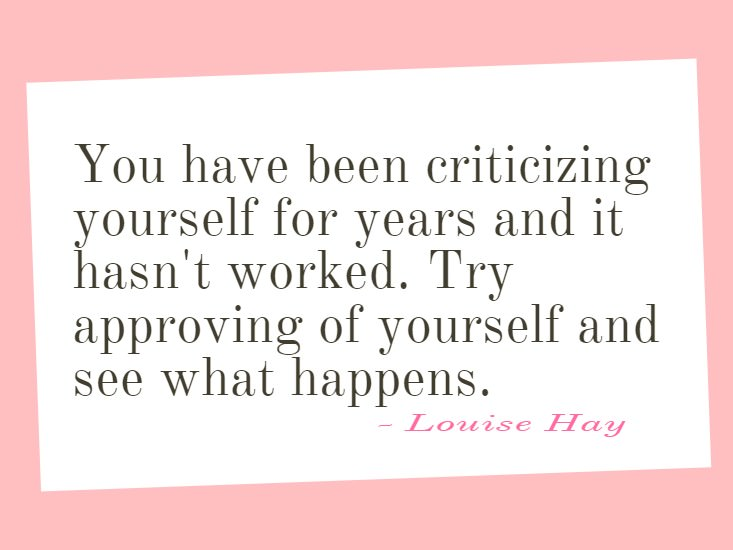 "[IMAGE] ""Try Approving of Yourself"" (245)"