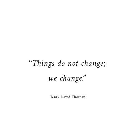 [Image] We must change.