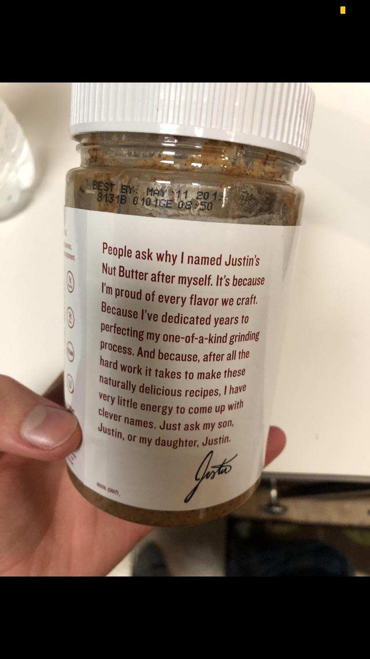 [Image] Justin explains why he names his product after himself.