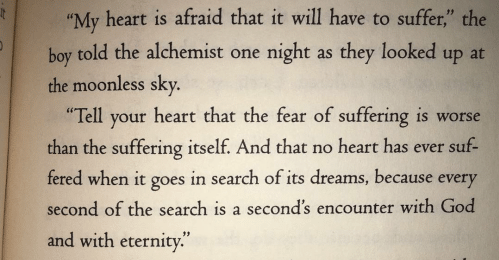 "[Image] From the book ""The Alchemist"""