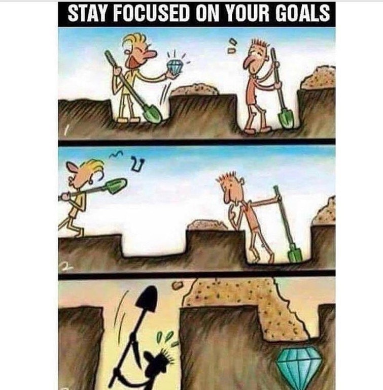 [Image] Stay focused on your goals