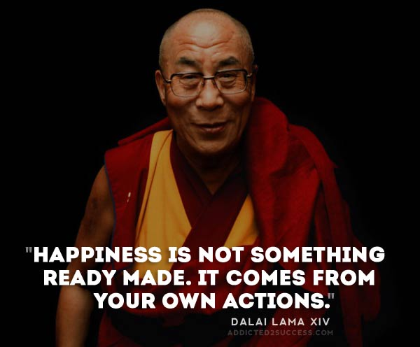 [Image] Happiness is not something ready made