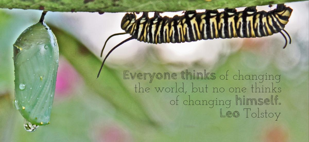 Everyone thinks of changing the world, but no one thinks of changing himself. Leo Tolstoy (1200 x 551)