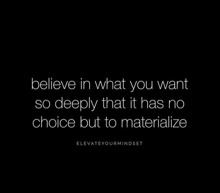 [IMAGE] decide what you want, believe you deserve it, believe you can have it and you will attract it.