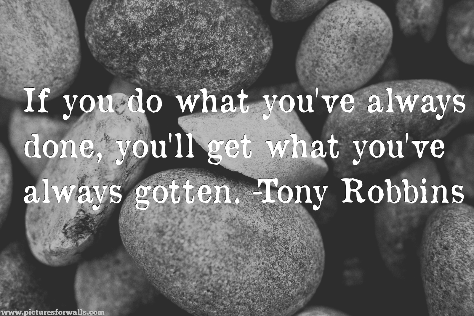 If you do what you've always done…Tony Robbins [1600 X 1067][oc]