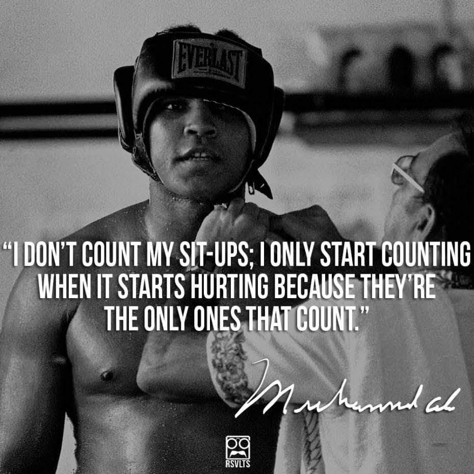 "[Image] ""I don't count my sit-ups…"""