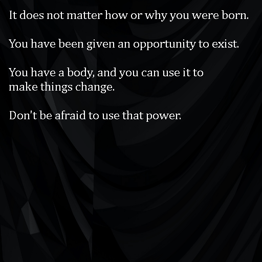 [Image] Don't be afraid to use that power