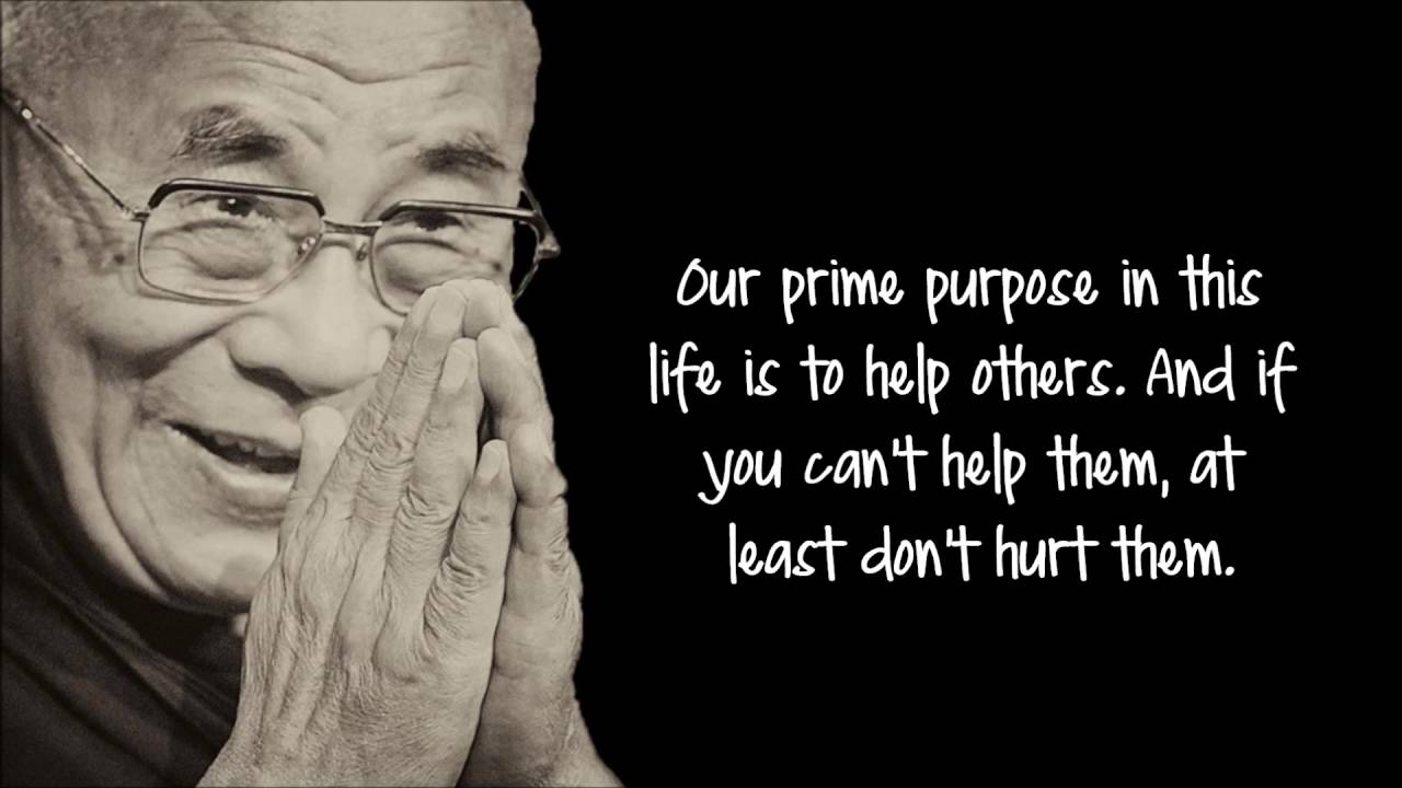 [Image] Our prime purpose in life