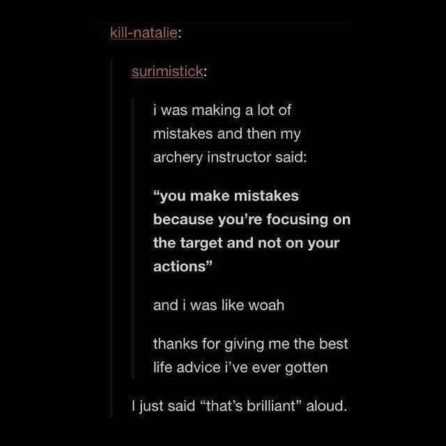 [Image] Focus on your actions