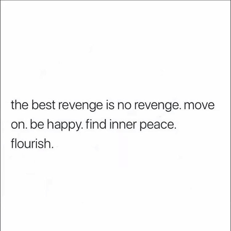 [Image] The best revenge is no revenge