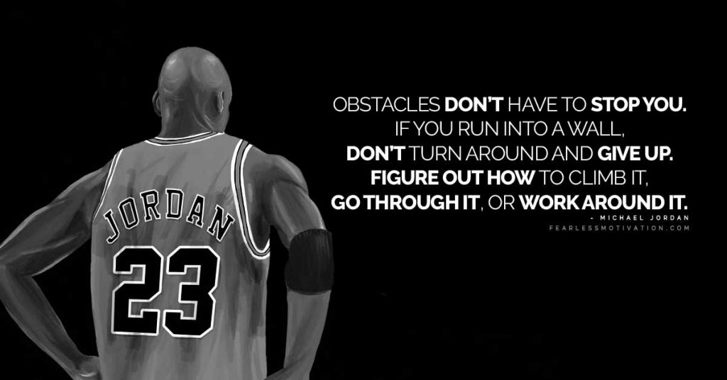 [Image] Obstacles don't have to stop you