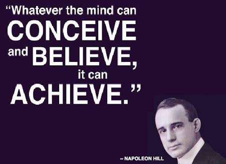 [Image] Believe and work towards it