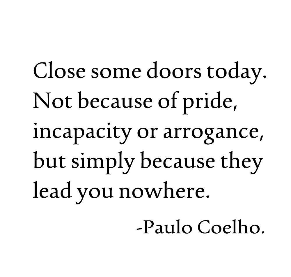 "[IMAGE] ""Close some doors today… """