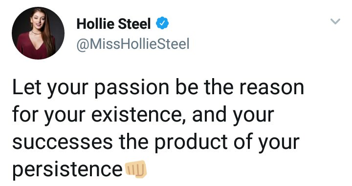 [Image] Your passions and your successes