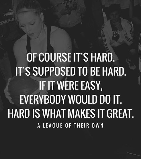 [Image] If it were easy, everybody would do it