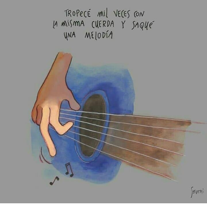 [Image] I tripped a thousand times with the same string until made a melody