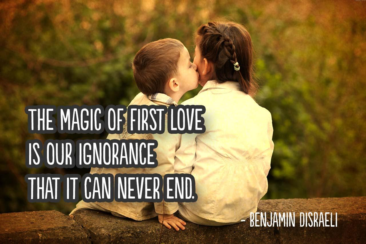 """The magic of first love is our ignorance that it can never end."" – Benjamin Disraeli [OC] [1280×853]"