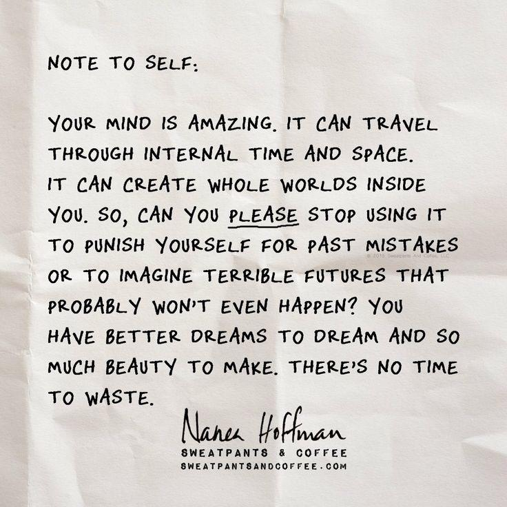 [image] Note to self