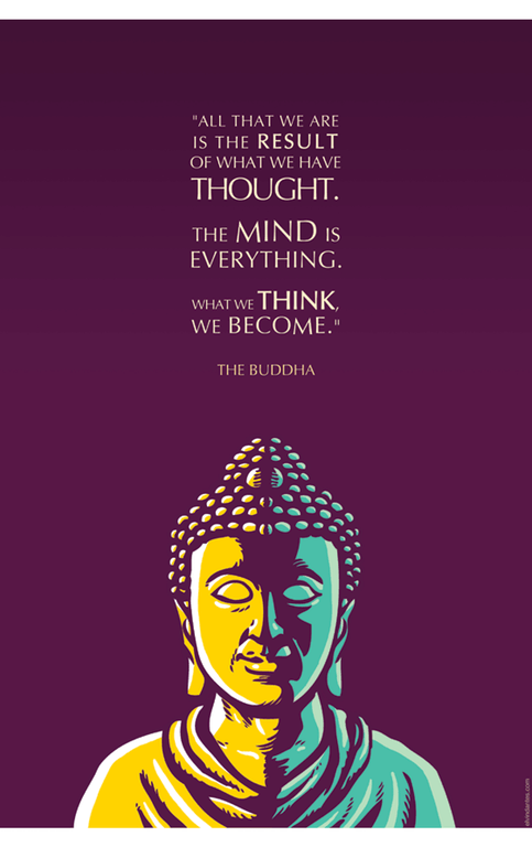 [Image] What we think, we become