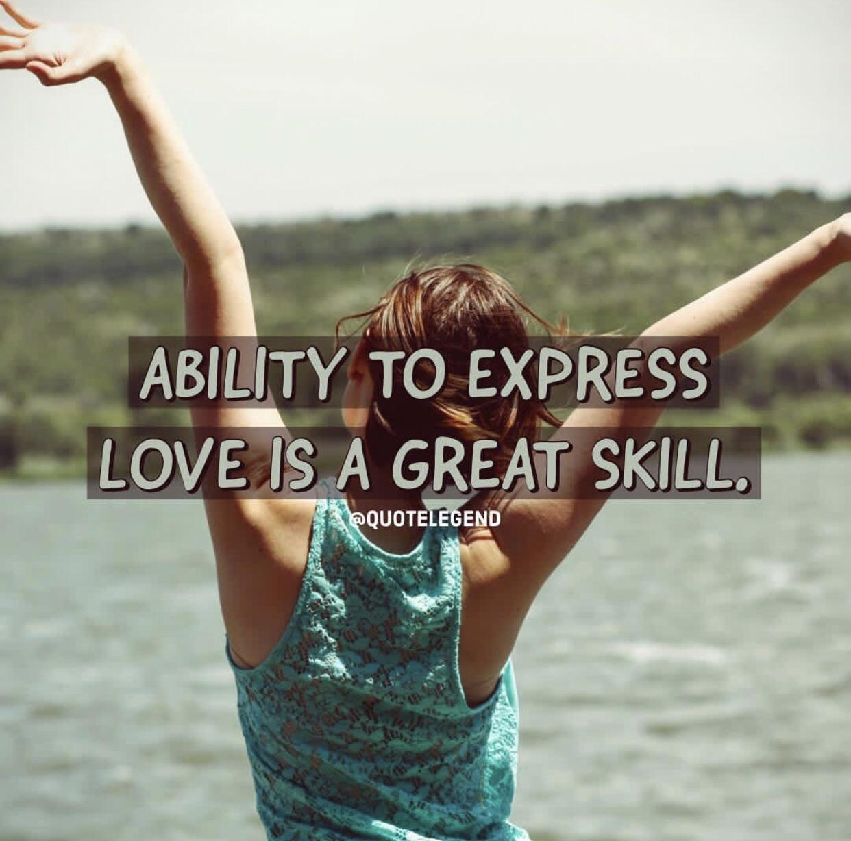 """Ability to express love is a great skill""-quotelegend [1242×1185][OC]"